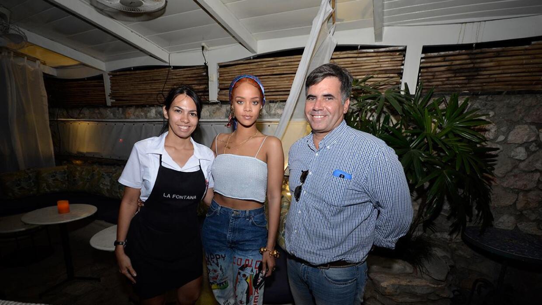 Rihanna de visita en Cuba