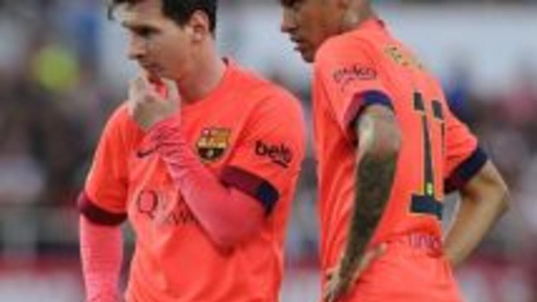 El Barcelona no pudoc conservar los dos goles de ventaja que le dieron M...