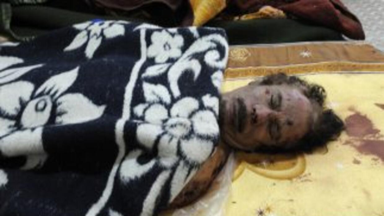 A un año de la muerte de Gadafi, las autoridades libias no han cumplido...