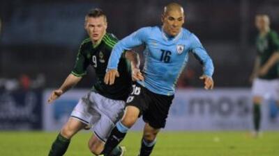 Uruguay se impuso a Irlanda del Norte en partido de preparación para la...