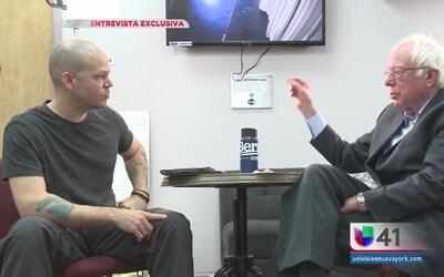 """""""Residente"""" entrevista a Bernie Sanders"""