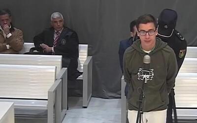 Diego Cruz Alonso, uno de 'Los Porkys', comparece ante el juez