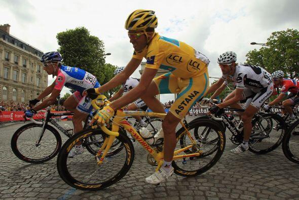 La vigésima y última etapa del Tour se desarrolló e...