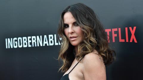 La actriz Kate del Castillo decidió acentuar su mirada, oscurecie...