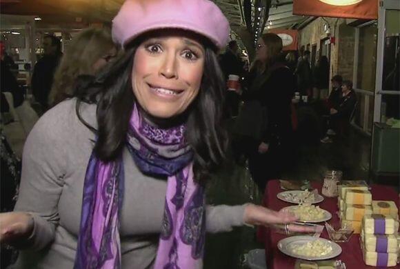 Karla estaba sorprendida de la figura de Thalía pues dijo que se la pasa...