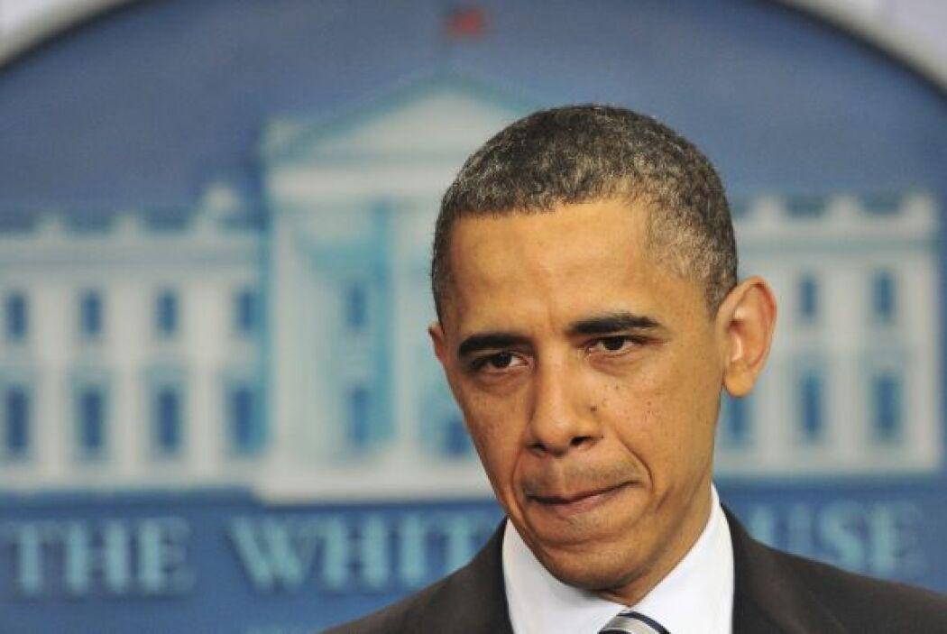 Obama habló después de que la Casa Blanca difundiera este miércoles una...