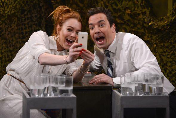 A para jueguitos... Lindsay Lohan jugó con fuego cuando visit&oac...