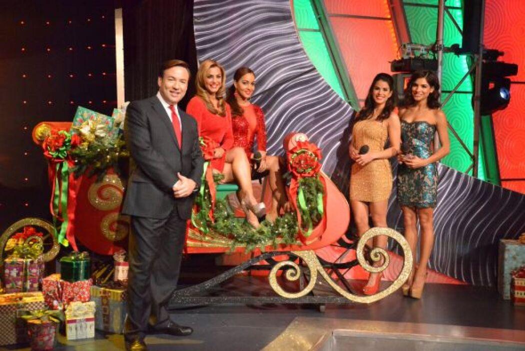 Todos a bordo en el trineo de Santa que está a punto de partir. ¡Feliz N...