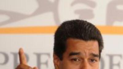 El presidente Nicolás Maduro confirmó que el canal colombiano NTN24 sali...