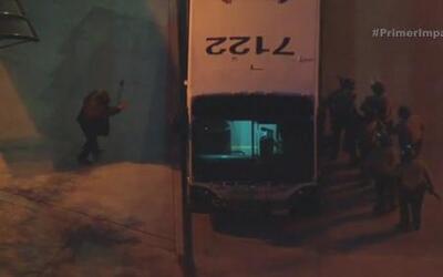 Falsa alarma de granada genera pánico entre pasajeros de un autobús en C...