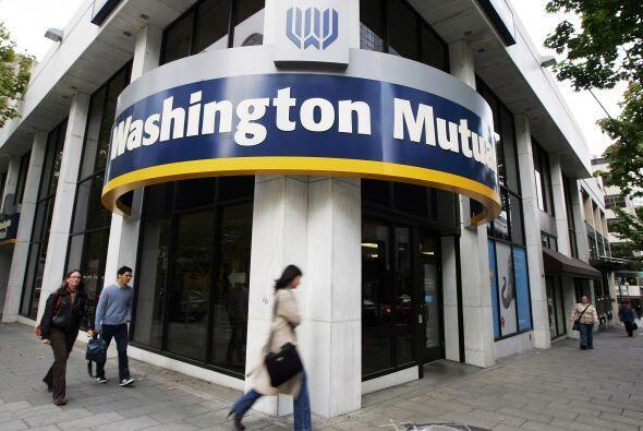 2. Washington Mutual (banco) - 26 septiembre 2008 - $327,900 millones.