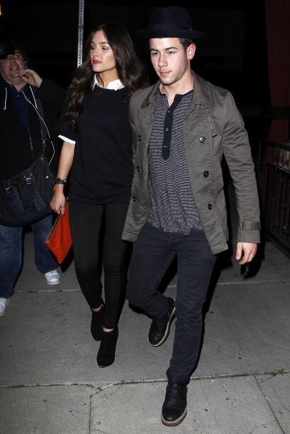 Otra pareja con buen gusto por la moda es la que conforman Nick Jonas y...
