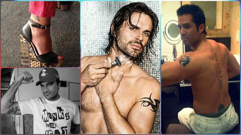 Los tatuajes más sensuales de los famosos