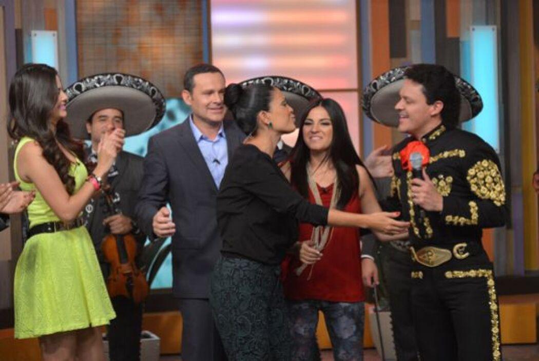 Pedro y Maite son dos famosos muy queridos en el programa.