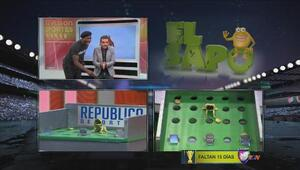 Felipe López jugó El Sapo en República a la Noche