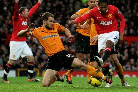 Otro que hizo un gran partido fue Antonio Valencia.