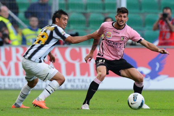 El duelo tuvo buen ritmo ya que Palermo y Juventus son dos equipos que s...