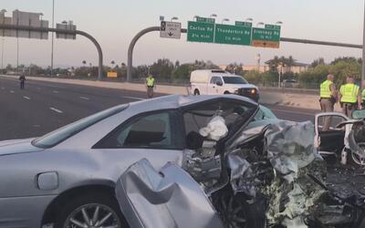 Tres jóvenes fallecieron en un trágico accidente en la autopista