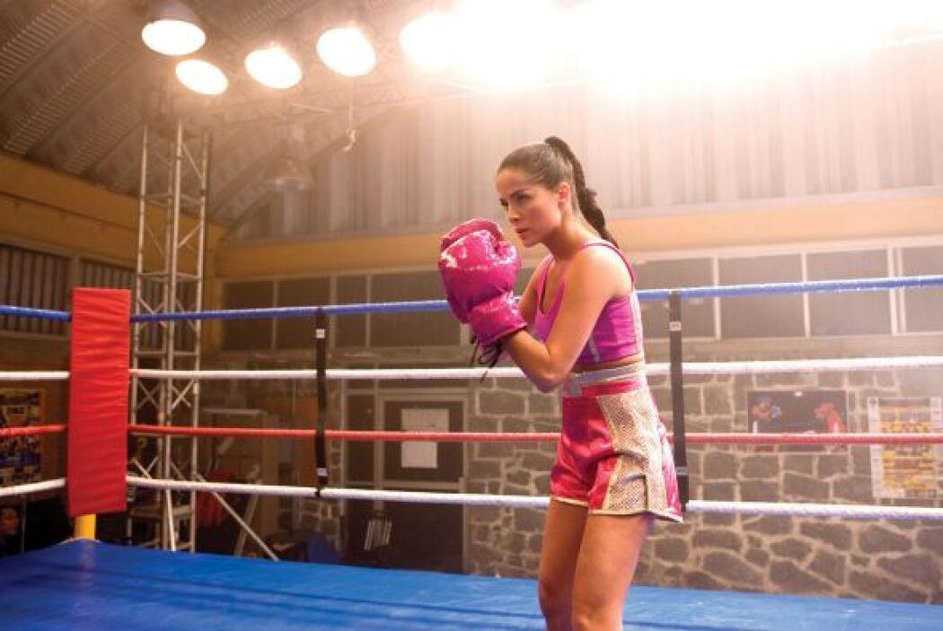Ella se convirtió en una valiente boxeadora.
