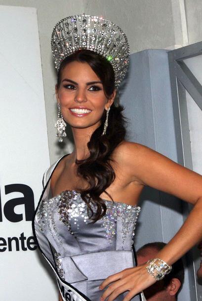Cynthia de la Vega iba a representar a México en el concurso Miss Mundo...