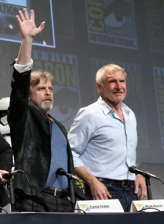Star Wars durante la Comic-Con