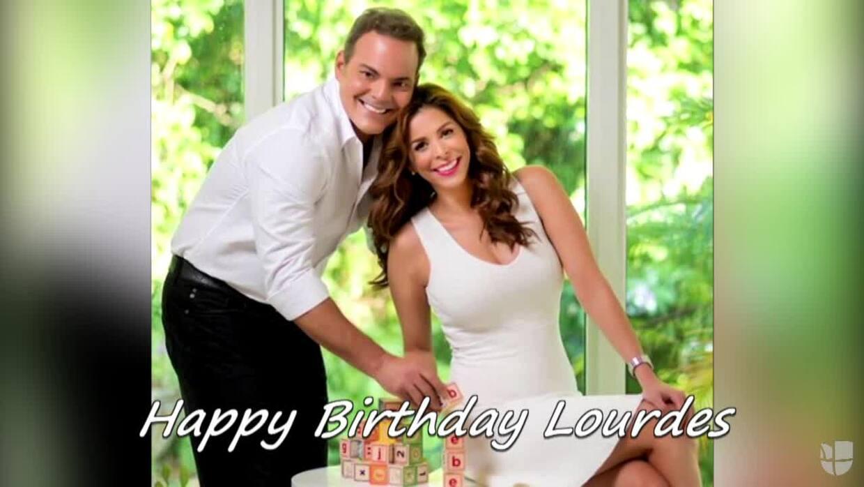 Mira el regalo que le preparamos a Lourdes en su cumpleaños
