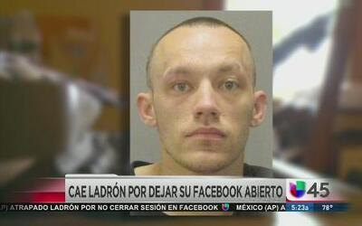 Ladrón dejó su Facebook abierto en la casa que robó