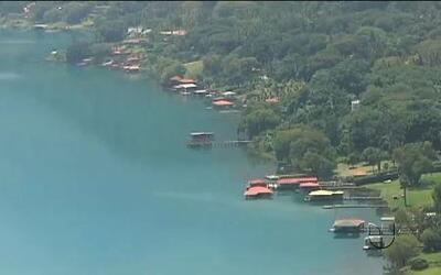 Misterio en un lago en El Salvador