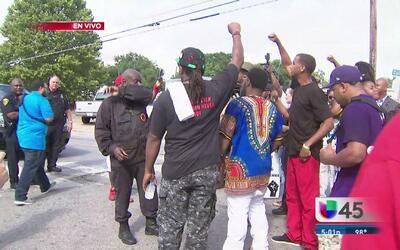 Protestas en recuerdo de Alva Braziel
