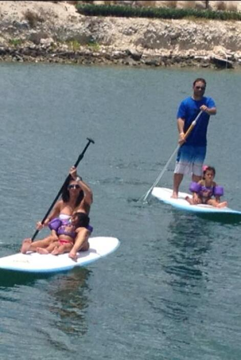 Bárbara Bermudo pasó unos días inolvidables con su familia de vacaciones...