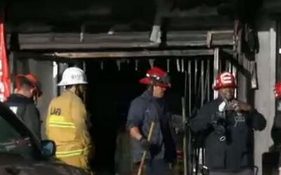 'Los Ángeles en un Minuto': dos personas murieron tras incendio registra...