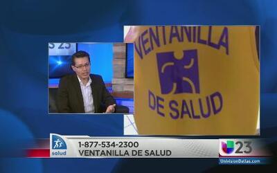 Ventanilla de Salud disponibles para hispanos