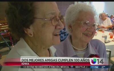 Mejores amigas cumplen 100 años