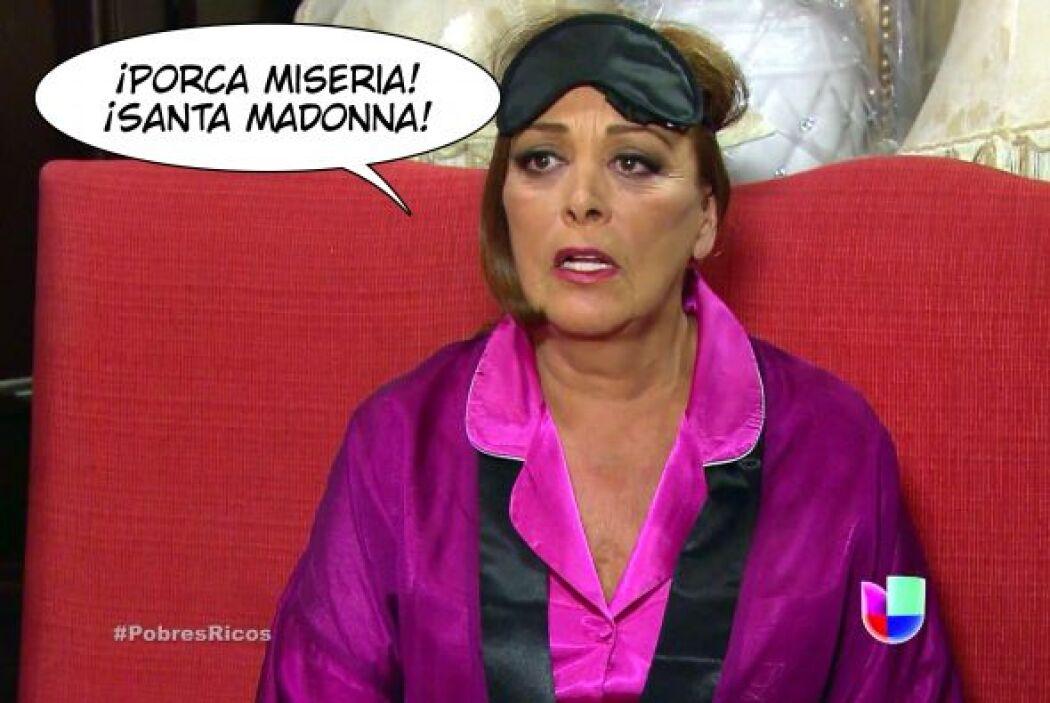 Dice Ana Sofía en Qué Pobres Tan Ricos cada vez que se recuerda de su si...