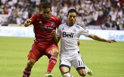 Vancouver venció al superlíder FC Dallas.