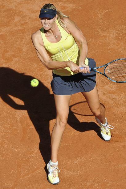 Las dos tenistas son rubias...una de Rusia.