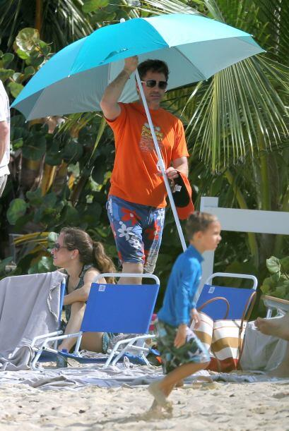 Robert Downey Jr. es otro famoso que se fue a la playa. Mira aquí...