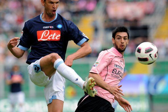 A partir de allí el Palermo se despertó y se hizo due&ntil...