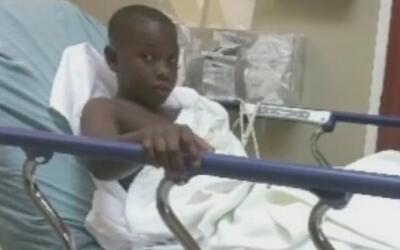 Un menor de nueve años de edad se convirtió en víctima de un ataque ocur...