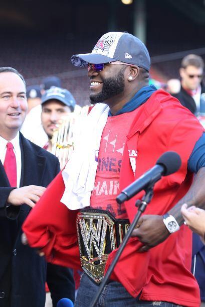 Ortiz, de 37 años, que también había ganado con el equipo anteriormente...