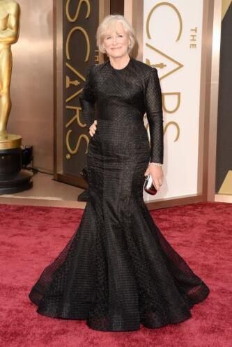 Otro de los vestidos horribles que vimos en la noche fue el Zac Posen de...