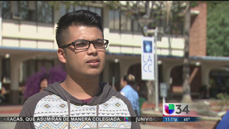 Primer año de colegio comunitario será gratuito en Los Ángeles
