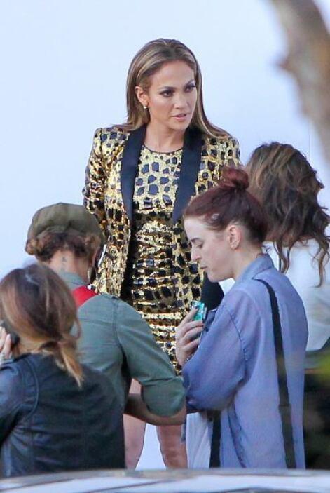 La hermosa Jennifer Lopez nos volvió a dejar con la boca abierta cuando...