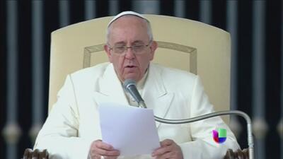 Unas declaraciones del Papa Francisco desataron una gran controversia
