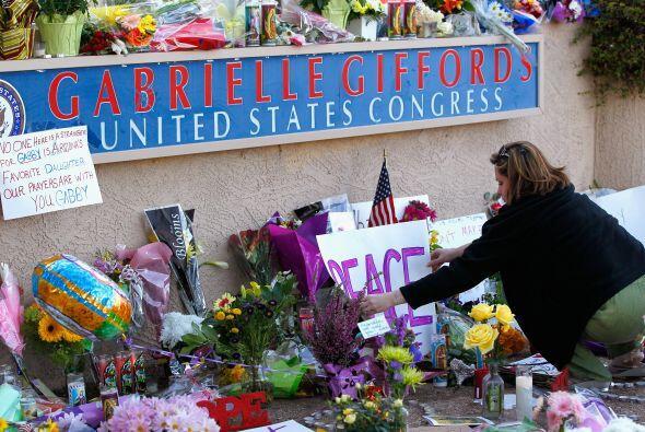 Noviembre 8- El autor del tiroteo perpetrado en 2011 en Tucson, Arizona,...