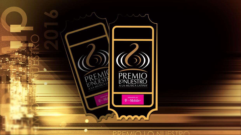 Tickets Premio Lo Nuestro