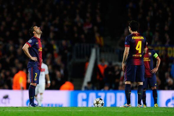 Los barcelonistas eran eliminados con ese marcador, pero le restaban 40...