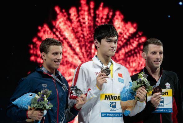 El estadounidense Michael McBroom se llevó la medalla de plata con 7:43.60.