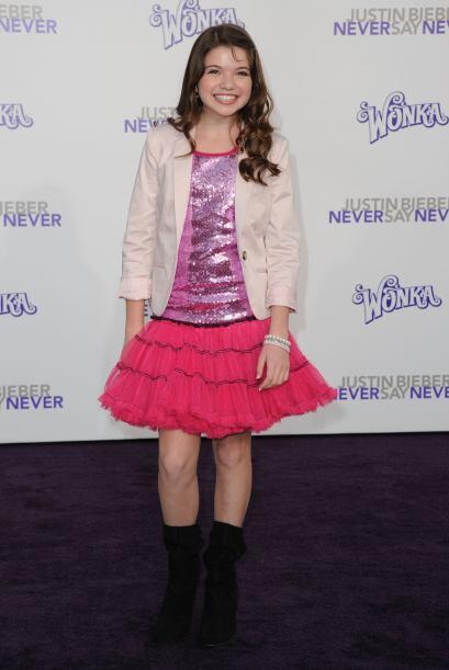 Aunque las niñas son las únicas que usan este tipo de falda, las adolesc...