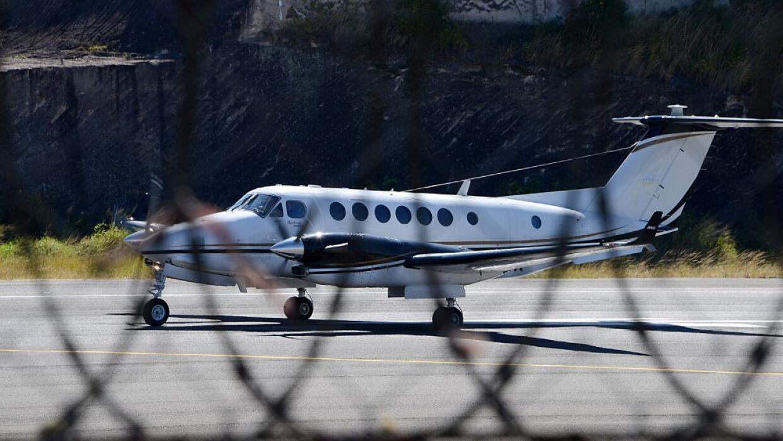 Tráfico aéreo de drogas (Imagen de archivo)